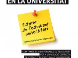 Campus d'informació: L'Estatut de l'estudiant universitari, FUT 22, 42-43.