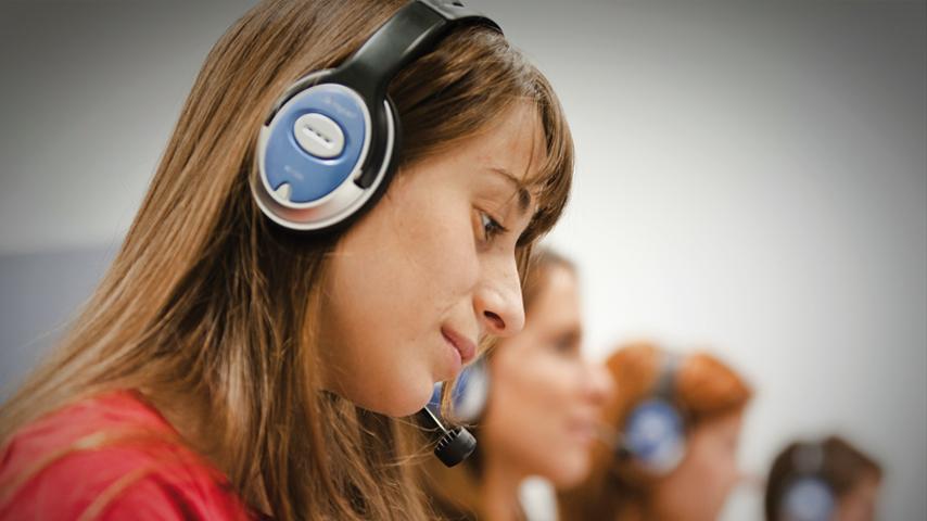 Laboratori de Traducció i Interpretació de la Universitat de València.