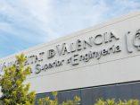 Façana de l'Escola Tècnica Superior d'Enginyeria (ETSE) de la Universitat de València, al Campus de Burjassot-Paterna.